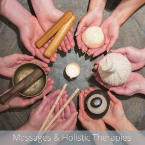 Massages & Holistic Therapies